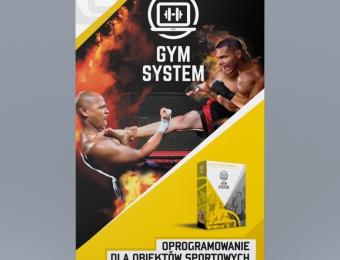 Projekt graficzny programu GYM System